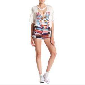 One Teaspoon Equador Chopper Shorts Multicolor 8